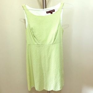Vintage Betsey Johnson Searsucker Dress